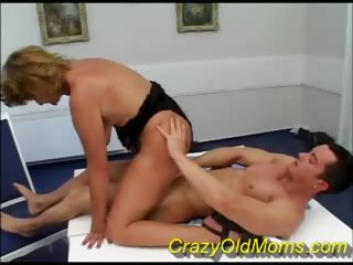 Porno Video of Threesome With Crazy Old Mom