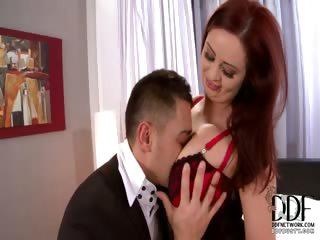 Porno Video of Busty Babe Titty & Pussy Fucks