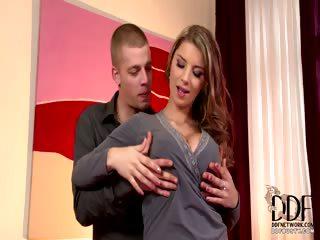 Porno Video of Gorgeous Czech Fucks & Sucks
