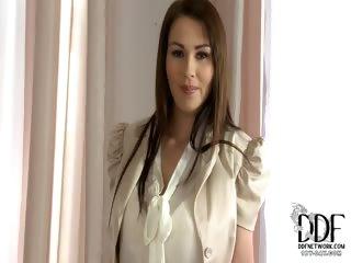 Porno Video of Antonia Teases In Her Panties