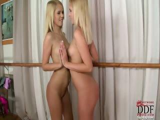 Porno Video of Ballerina Babe Dancing Nude!
