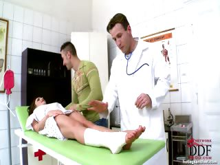 Porno Video of Doctors Foot Fetish Exam!