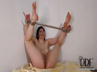 Porno Video of Bound Babe Pees On Herself