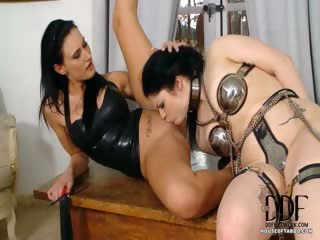 Porn Tube of Girl Gets Flogged By Mistress