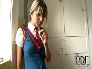 Porno Video of Schoolgirl Gets Caught Smoking