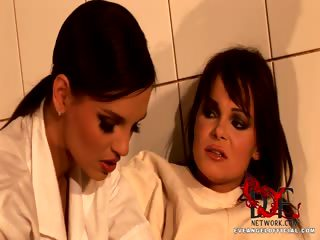 Porn Tube of Doctor Lady Eve Giving An Exam