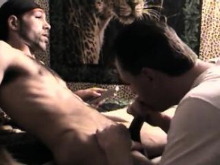 Eating My Cum Off Str8 Black Cock