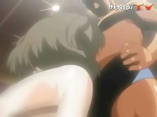 Porno Video of Hentai Babe Gives Blowjob