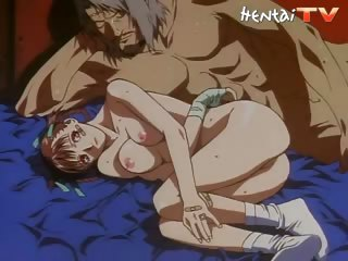 Porno Video of Two Horny Hentai Studs Fuck This Naughty Hentai Chick