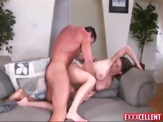 Porn Tube of Sara Stone Bends Over And Lets This Stud To Fuck Her Pussy From Behind