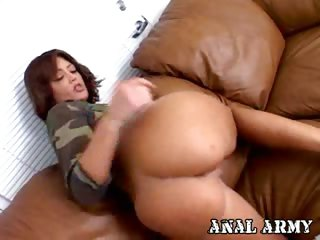 Porn Tube of Hot Army Bitch Francesca Sins