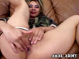 Porno Video of Seductive Army Slut Catalina