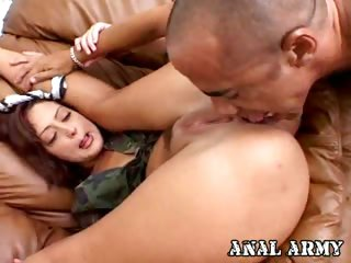 Porno Video of Hot Army Bitch Francesca Sins