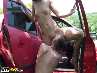 Porn Tube of Upskirt Fuck And Sex In The Bar