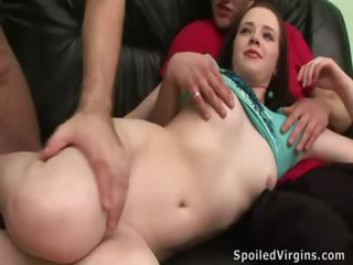 Porn Tube of Sweet Virgin Cheerleader Agrees To Fuck On Camera