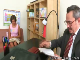 Porn Tube of Sheyla Fucks With A Teacher, What A Shameless Girl!