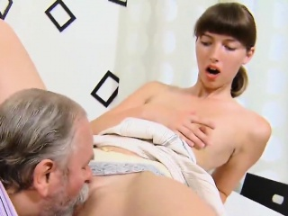 fervent schoolgirl is seduced and rode by her senior teacher
