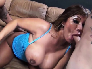 ava divine gets her pretty face fucked