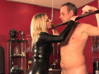 cbt mistress dominates over sub