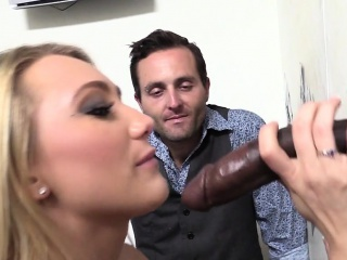cuck watching wife aj applegate getting blacked