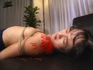 skinny japanese nympho enjoys a rough banging and gets cove