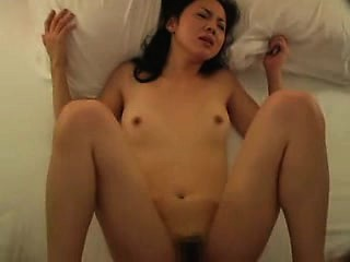 slim asian girl can't get enough of a hard rod plowing her