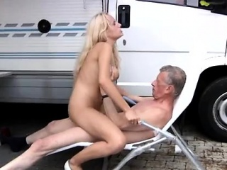 sexy young japanese girl old man and old old granny fat rich