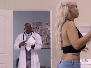 brigette b gets the doctor's big dick