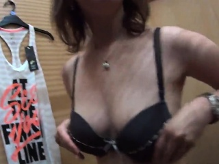 perfect czech nympho gets teased in the mall and nailed in p