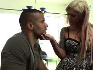 hot blonde milf interracial casual fuck