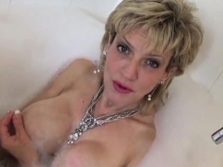 cheating british milf gill ellis flashes her enormous jugs