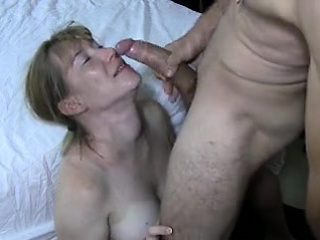 huge tits wife likes a cumshot