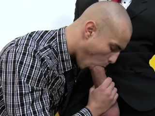 stud is delighting hunk with an arousing oral-stimulation