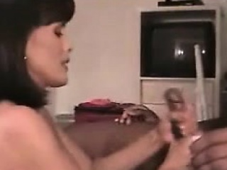 120-hubby films his wife with hug bbc