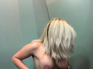 glamorous czech sweetie is teased in the supermarket and pou
