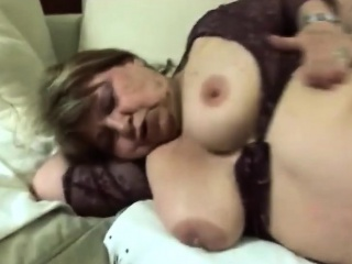Gilf Gets Her Pussy Stuffed Hard