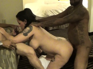 wife threesome huge end that is facial