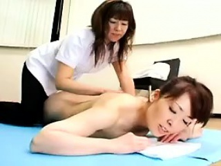ravishing asian lady gets the sensual massage she's been wa