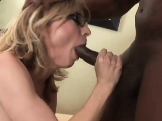 Interracial Triple Action With Blonde Milf