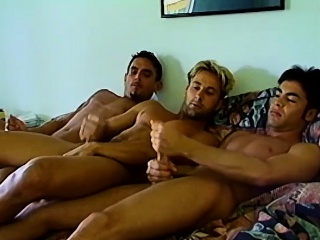 uncut euro hunks ready for some wild rough threesome