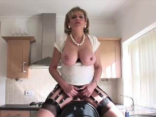 unfaithful british mature lady sonia pops out her massive ho