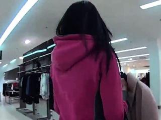 ravishing czech teen was seduced in the supermarket and poke