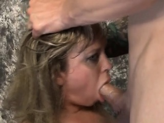blonde mallory taylor cries and gags