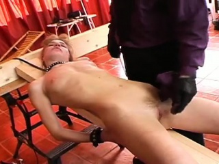 slit torture makes sluts even more turned on than before