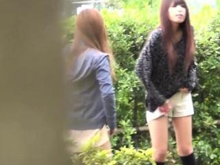 japanese babe wets pants
