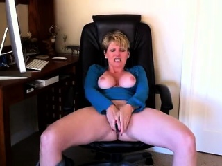 Hot Blonde Milf With Huge Tits