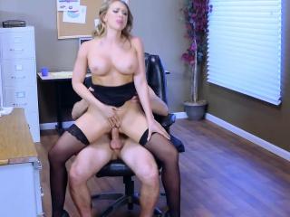 Brazzers - Big Boobs At Work - Kagney Linn Kar