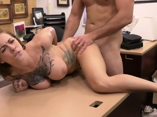 Curvy Chick Harlow Gets Her Wet Pussy Banged Hard