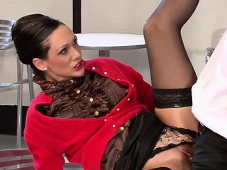 hot honey spreads her legs wide and fucks herslef with a dildo