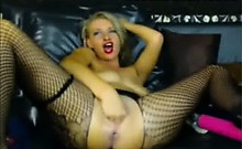 Fishnets Dildo Anal Pussy Fisting
